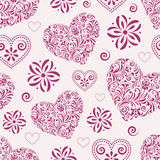 Corações abstratos Imagem de Stock