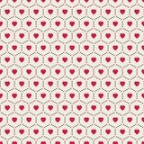 Corações abstratos Fundo sem emenda para seu projeto Ilustração do vetor Conceito do amor Papel de parede bonito Boa ideia para s Imagem de Stock Royalty Free