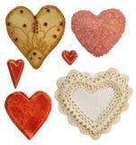 Corações abundantes Foto de Stock Royalty Free