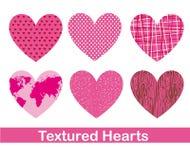 Corações bonitos Foto de Stock Royalty Free