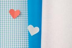 Corações coloridos Imagem de Stock