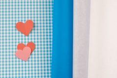 Corações coloridos Imagens de Stock Royalty Free