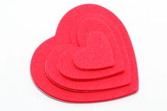Corações da camada Imagem de Stock