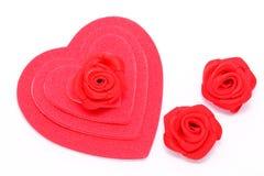 Corações da camada Imagem de Stock Royalty Free