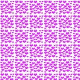 Corações de Digitas e papel da cor ilustração do vetor