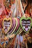 Corações de Oktoberfest Imagem de Stock Royalty Free