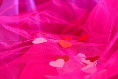 Corações de Peper Fotografia de Stock