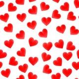 Corações de Tileable Imagem de Stock