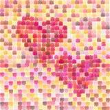 Corações de Valentiness Foto de Stock Royalty Free