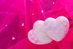 Corações decorativos Foto de Stock Royalty Free