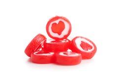 Corações deliciosos dos doces Imagem de Stock Royalty Free