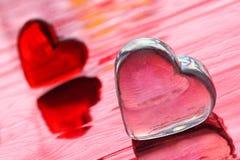 Corações do amor Foto de Stock