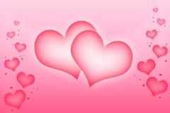 Corações do amor Fotos de Stock Royalty Free