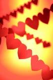 Corações do amor Fotos de Stock