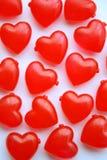 Corações do amor fotografia de stock