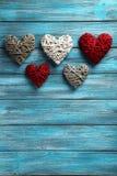 Corações do amor Foto de Stock Royalty Free