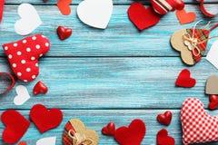 Corações do amor Fotografia de Stock Royalty Free