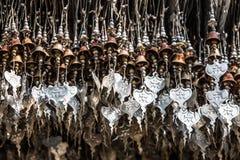 Corações do budista da boa sorte fotos de stock royalty free