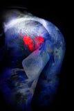 Corações do desenho das nádegas fêmeas Foto de Stock Royalty Free