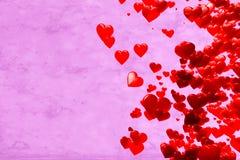 Corações do dia de Valentim Foto de Stock