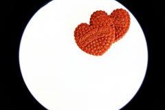 Corações do dia de Valentin fotos de stock