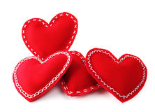Corações do dia do Valentim Imagem de Stock
