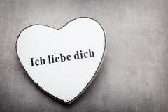 Corações do dia do Valentim Cartão greating do dia de são valentim foto de stock