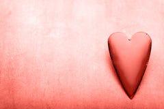 Corações do dia do Valentim Cartão greating do dia de são valentim fotografia de stock