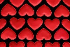 Corações do fundo Fotografia de Stock Royalty Free