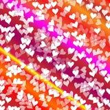 Corações do fundo Foto de Stock Royalty Free