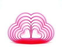 Corações do meu Valentim Fotografia de Stock