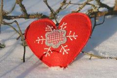Corações do Natal imagem de stock royalty free