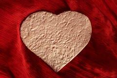 Corações do papel feito a mão fotos de stock royalty free