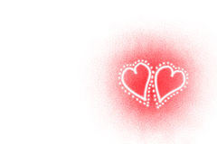 Corações do Valentim ilustração do vetor