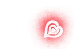 Corações do Valentim ilustração stock
