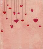 Corações do vintage Imagem de Stock Royalty Free