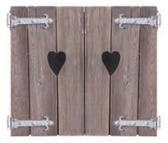 Corações dobro Imagem de Stock