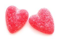 Corações dos doces Fotografia de Stock Royalty Free