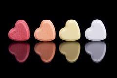 Corações dos doces Foto de Stock
