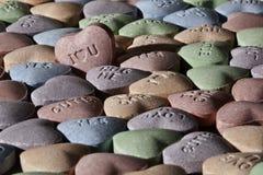 Corações dos doces do dia do Valentim Foto de Stock Royalty Free