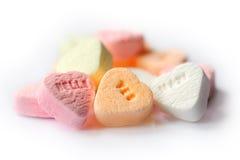 Corações dos doces do Valentim Foto de Stock