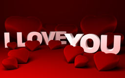 Corações e   Imagem de Stock Royalty Free