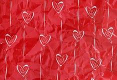 Corações e setas Fotos de Stock Royalty Free