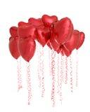 Corações em toda parte Imagem de Stock