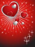 Corações encantadores Foto de Stock Royalty Free
