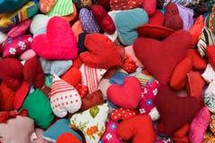 Corações enchidos Foto de Stock