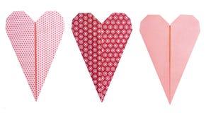 Corações estreitos ajustados Imagem de Stock Royalty Free