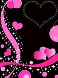 Corações Funky Foto de Stock Royalty Free