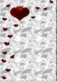 Corações G Foto de Stock
