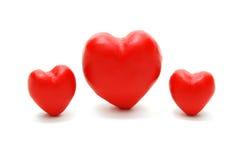 Corações (grande meio) Imagens de Stock
